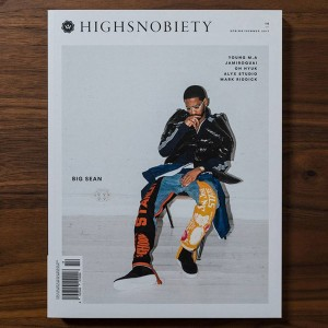 Highsnobiety Magazine Issue 14 - Big Sean (white / print)