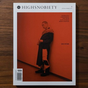 Highsnobiety Magazine Issue 14 - Oh Hyuk (white / print)