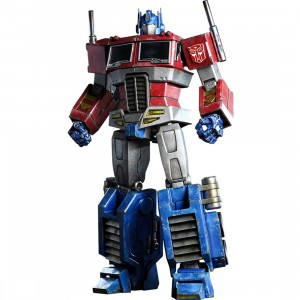 Hot Toys Optimus Prime - Starscream Version 12 Inches Collectible Figure (red)