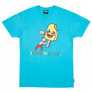 Ice Cream Men Dream Bigger Tee (blue / teal)