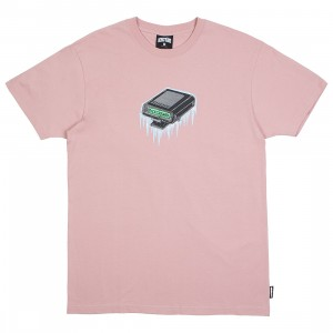 Ice Cream Men Pager Tee (pink / mauve)