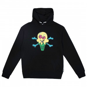Ice Cream Men Lemonade Hoody (black)