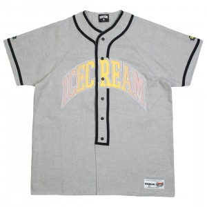 Ice Cream Men Play Ball Knit Jersey Tee (gray)