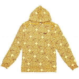 Ice Cream Men Cole Hoody (brown / yellow sunflower)