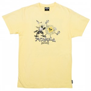 Ice Cream Men Reynolds Knit Tee (yellow)
