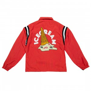 Ice Cream Men Adams Jacket (red / tomato)