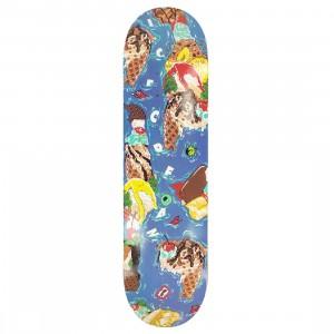 Ice Cream Ice Cream Island Skate Deck (blue)
