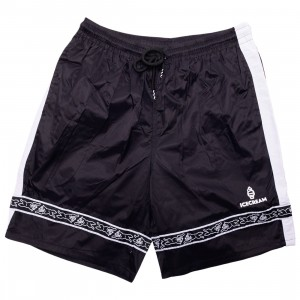 Ice Cream Men Baggies Shorts (black)