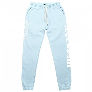Ice Cream Men Cones Sweatpants (blue)