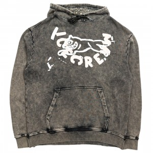 Ice Cream Men Stone Hoody (black)