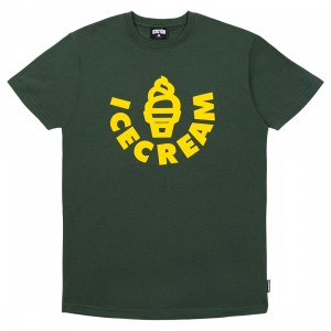 Ice Cream Men Soft Serve Tee (green)