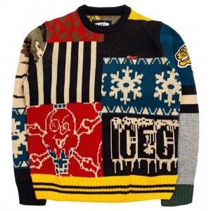 Ice Cream Men Syrup Sweater (multi / black)