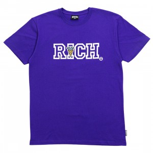 Ice Cream Men Richer Tee (purple)