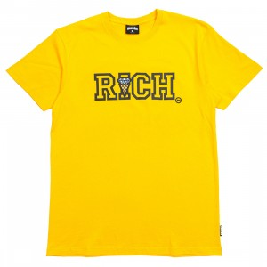 Ice Cream Men Richer Tee (yellow)
