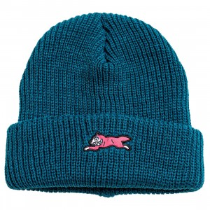 Ice Cream Colors Knit Beanie (blue / teal)