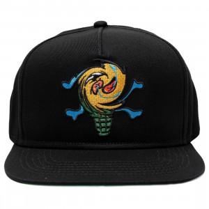 Ice Cream Spin Cycle Snapback Cap (black)