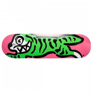 Ice Cream Hey Tiger Skate Deck (pink / coral)