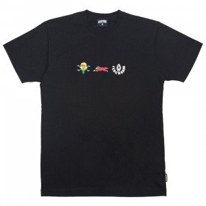 Ice Cream Men Toffee Tee (black)