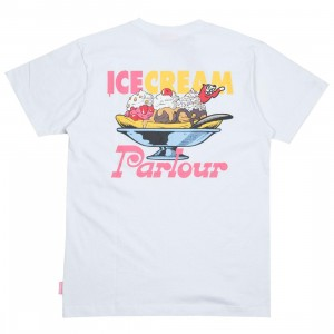 Ice Cream Men Parlour Tee (white)