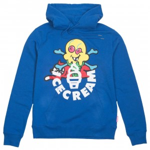 Ice Cream Men Licorice Hoody (blue)