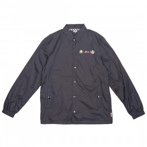 Ice Cream Men Coaches Jacket (black)