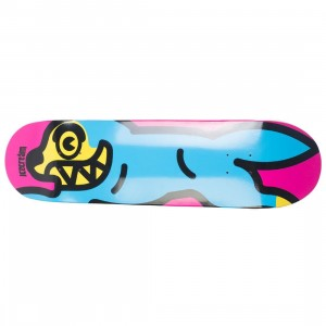 Ice Cream Brown Bread Skate Deck (blue)