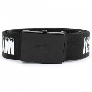 Ice Cream Matte Belt (black)
