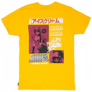 Ice Cream Men Manga Tee (yellow)