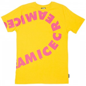 Ice Cream Men Flavors Tee (yellow)