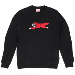 Ice Cream Men Legacy Crew Sweater (black)