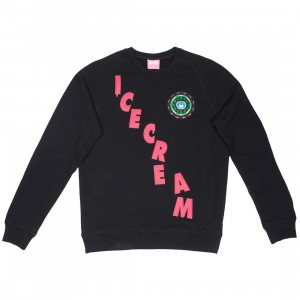 Ice Cream Men Time Crew Sweater (black)