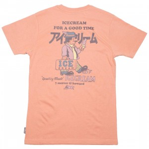 Ice Cream Men Breyer Tee (pink / clay)