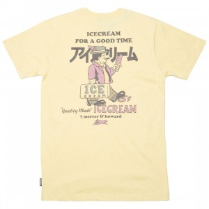 Ice Cream Men Breyer Tee (yellow / sundress)