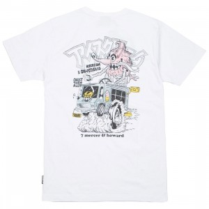 Ice Cream Men Creamsickle Tee (white)