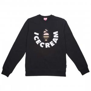 Ice Cream Men Vanilla Crew Sweater (black)