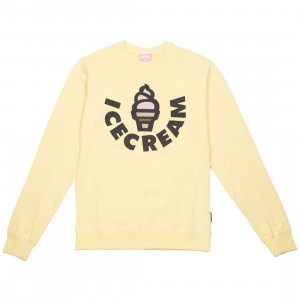 Ice Cream Men Vanilla Crew Sweater (yellow)