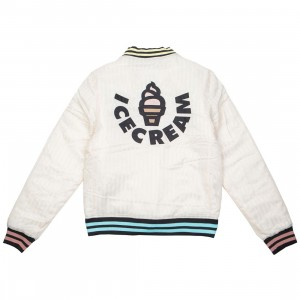 Ice Cream Men Hoodsie Jacket (white)
