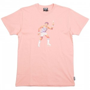 Ice Cream Men Twist Tee (pink / rose tan)