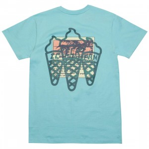 Ice Cream Men Advertising Tee (blue)