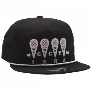 Ice Cream Ice Cream Cap (black)