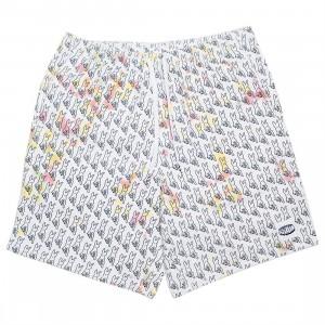 Ice Cream Men Crusher Shorts (white)