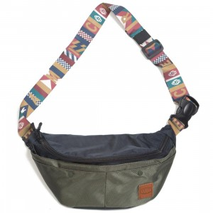 Ice Cream Rogan Fanny Pack Bag (navy)