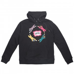 Ice Cream Men Chase Hoody (black)