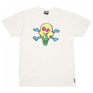 Ice Cream Men Cones And Bones Tee (white)