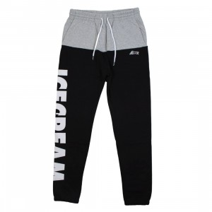 Ice Cream Men Minor Thread Sweatpants (black)