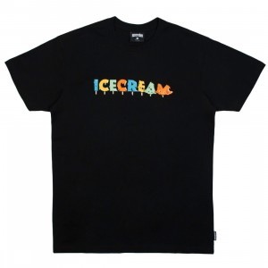Ice Cream Men Drip Tee (black)