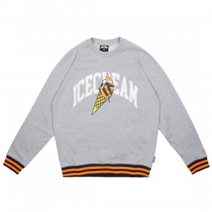 Ice Cream Men Snowbird Crew Sweater (gray)