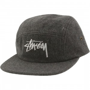 Stussy Stock Wool Camp (gray / heather)