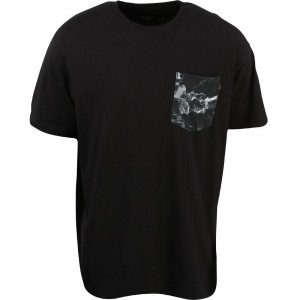 10 Deep Tribes Pocket Tee (black)