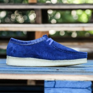 Clarks x Stussy Men Wallabee (navy / suede)